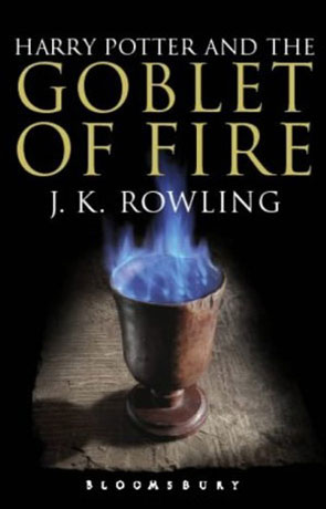 The Goblet of Fire, a novel by J K Rowling