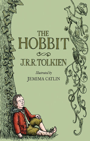 The Hobbit: Illustrated Edition, a novel by JRR Tolkien