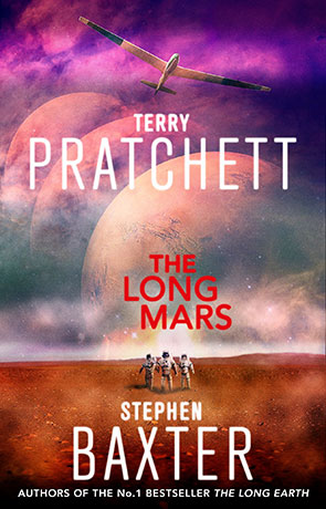 The Long Mars, a novel by Terry Pratchett