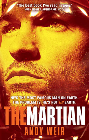 The Martian, a novel by Andy Weir