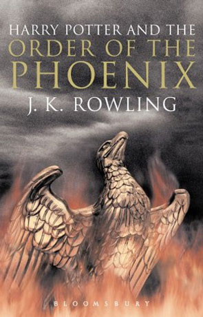 The Order of the Phoenix, a novel by J K Rowling
