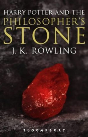 The Philosophers Stone, a novel by J K Rowling