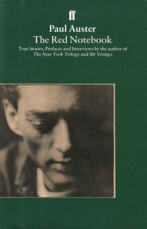 The Red Notebook, a novel by Paul Auster