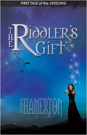 The Riddler's Gift, a novel by Greg Hamerton