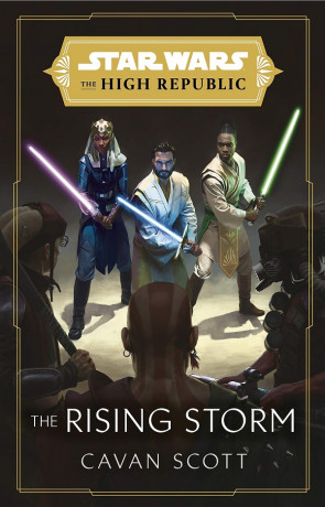 The Rising Storm, a novel by Cavan Scott