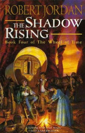 The Shadow Rising, a novel by Robert Jordan