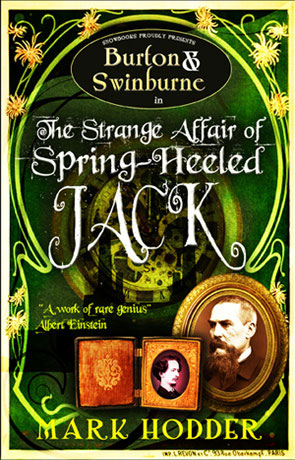 The Strange Affair of Spring-Heeled Jack, a novel by Mark Hodder