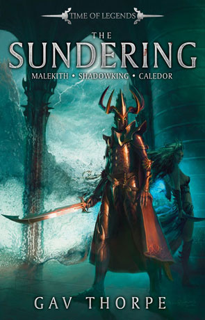 The Sundering, a novel by Gav Thorpe