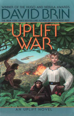 Uplift War, a novel by David Brin