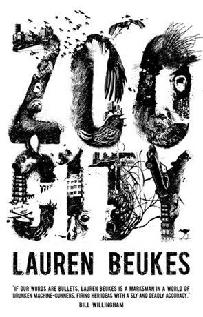 Zoo City, a novel by Lauren Beukes